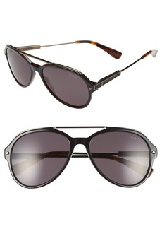 Lanvin 57mm Aviator Sunglasses