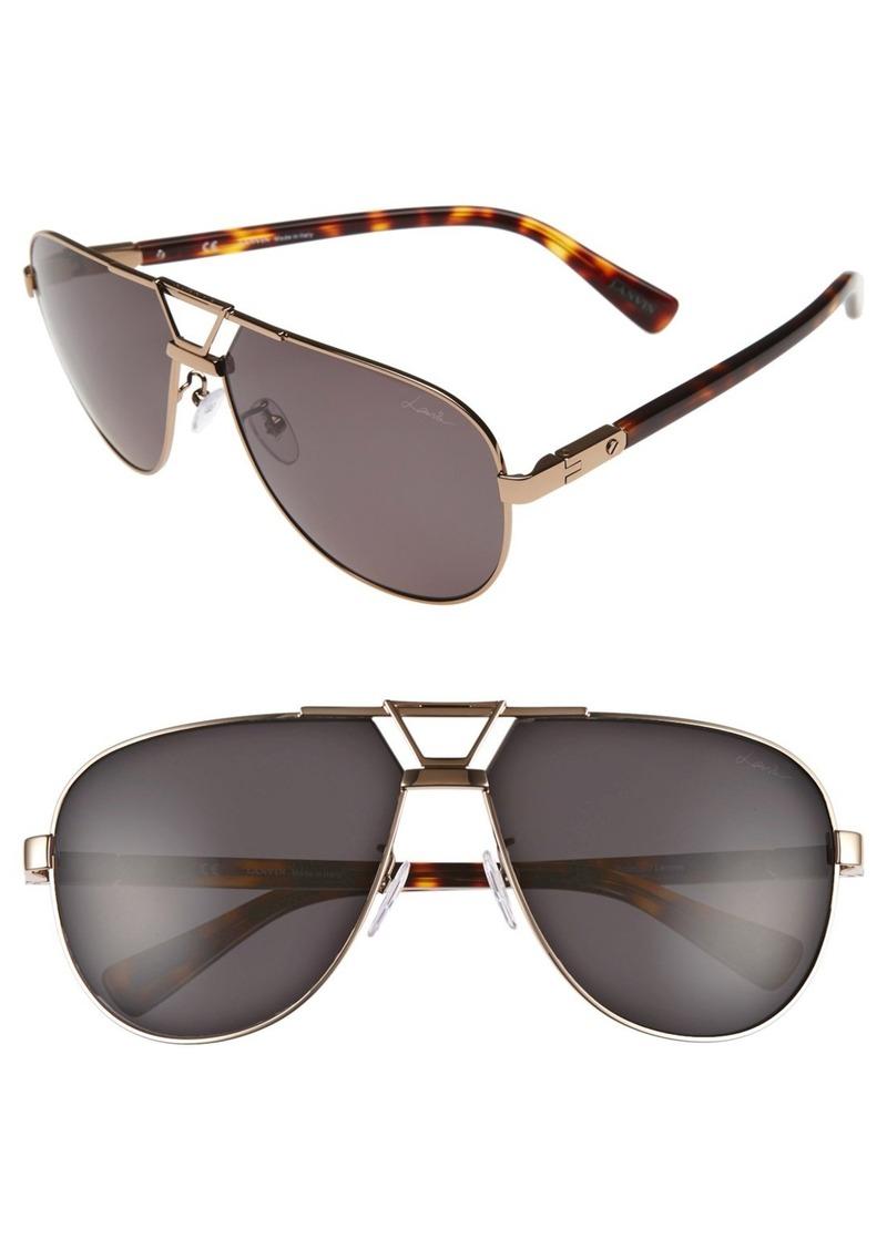 Lanvin 61mm Aviator Sunglasses