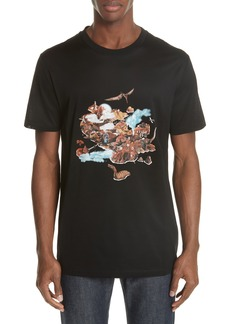 Lanvin Abstract Graphic T-Shirt
