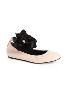 Lanvin Ankle Strap Ballet Flat (Women)