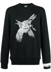 Lanvin bird embroidered sweatshirt