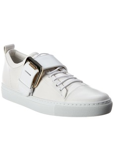 Lanvin Buckle Leather Sneaker