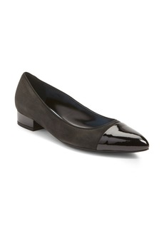 Lanvin Cap Toe Ballerina Flat (Women)