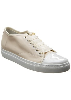 Lanvin Cap Toe Leather Sneaker