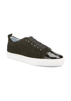 Lanvin Cap Toe Low Top Sneaker (Women)