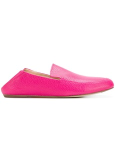 Lanvin casual grained loafers - Pink & Purple