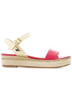 Lanvin chain trim sandals - Pink & Purple