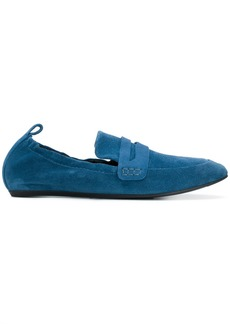 Lanvin classic slip-on loafers - Blue