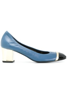 Lanvin colour block pumps - Blue