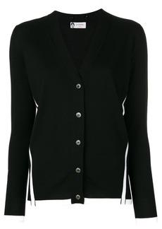 Lanvin contrast trim buttoned cardigan