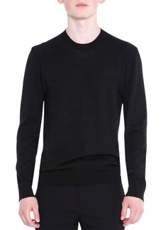 Lanvin Crewneck Wool/Silk Knit Sweater