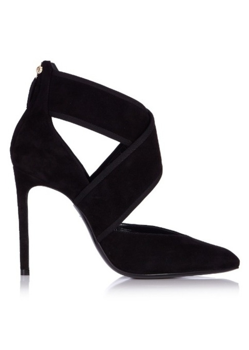 Lanvin Crossover velvet pumps