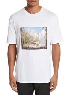 Lanvin Dinosaur Patch T-Shirt