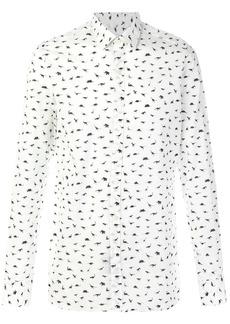 Lanvin dinosaur print shirt - White