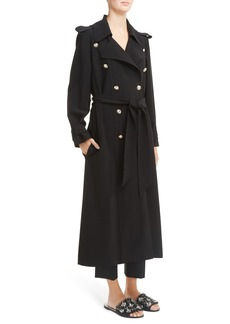 Lanvin Double Breasted Trench Coat