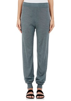 Lanvin Women's Drop-Rise Knit Pants-GREY, IVORY Size S