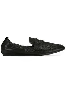 Lanvin elasticated loafers - Black