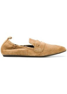 Lanvin elasticated loafers - Nude & Neutrals