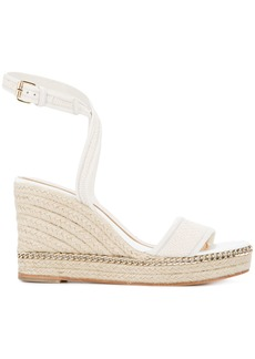Lanvin espadrille wedge sandals - White