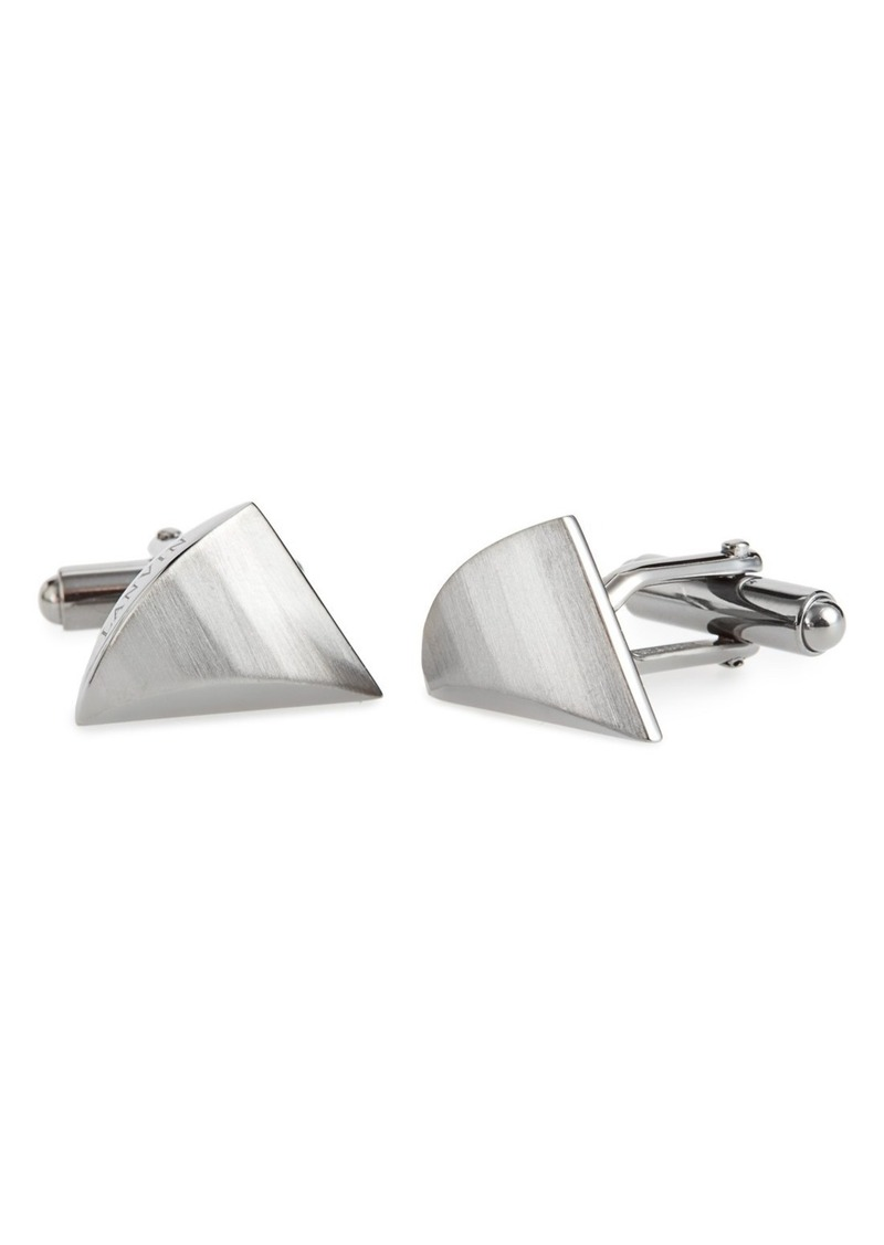 Lanvin Faux Shark Tooth Cuff Links
