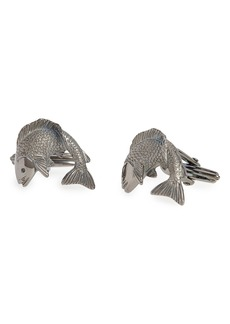 Lanvin Fish Cuff Links