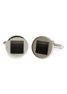 Lanvin Geometric Cuff Links