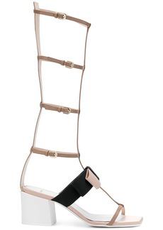 Lanvin gladiator bow sandal - Nude & Neutrals