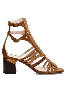 Lanvin Gladiator suede sandals