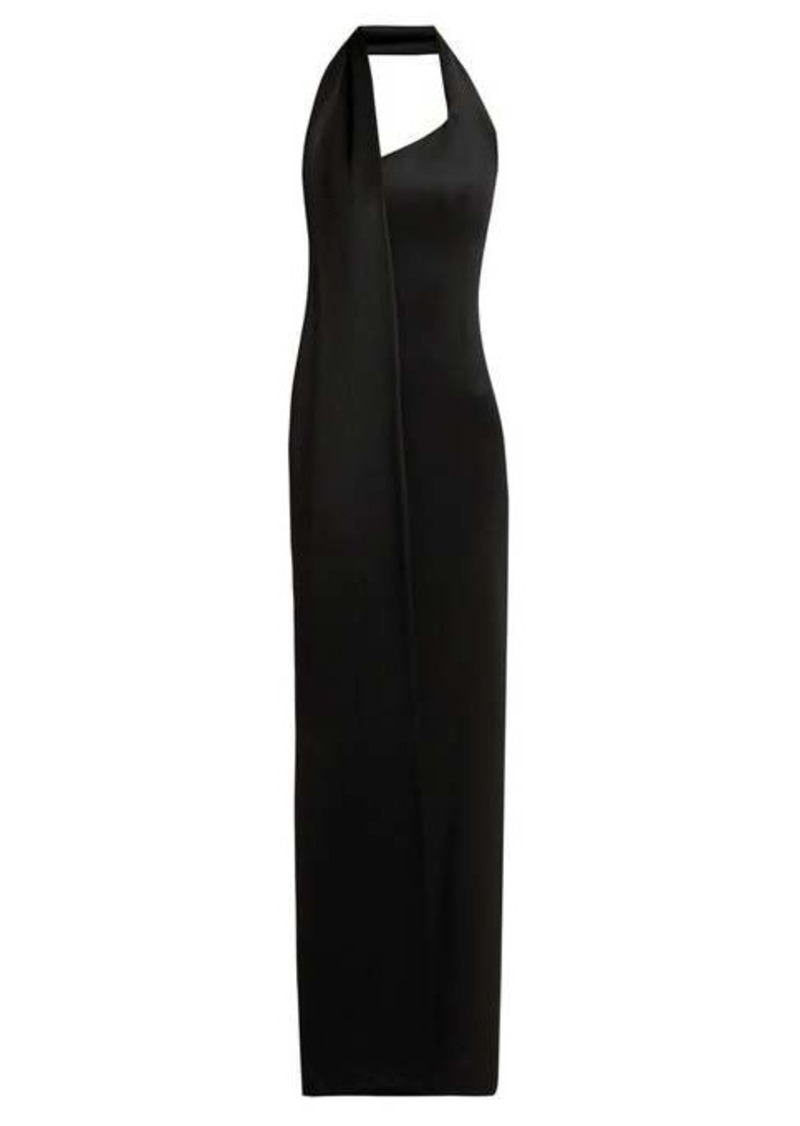 Lanvin Halterneck jersey dress
