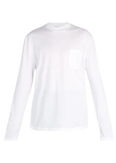 Lanvin High collar long-sleeve T-shirt