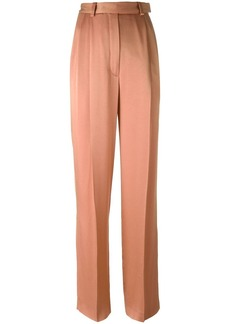 Lanvin high rise wide trousers - Pink & Purple