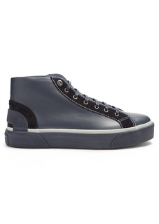 Lanvin High-top leather trainers