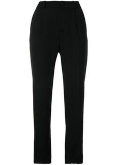 Lanvin high-waisted tailored trousers - Black