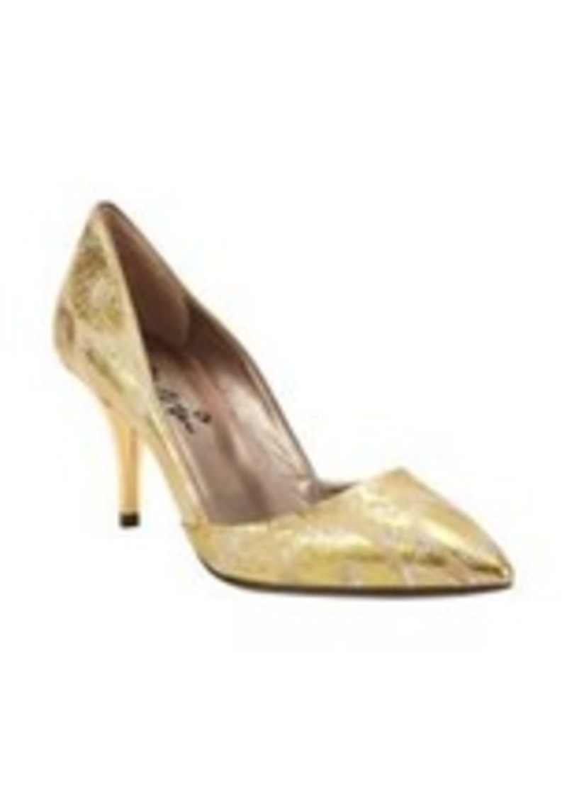 Lanvin Jacquard Low-Cut Side Pumps