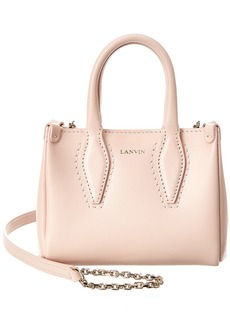 Lanvin Journee Micro Leather Shoulder Bag