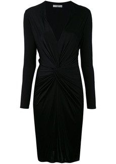 Lanvin knot detail pencil dress - Black