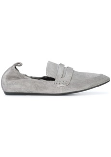 Lanvin leather loafers - Grey