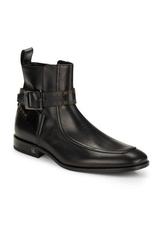 Lanvin Leather Strap Ankle Boots