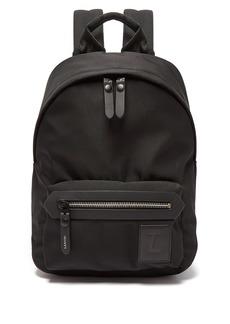 Lanvin Logo patch backpack