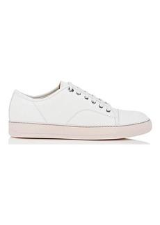Lanvin Men's Cap-Toe Nubuck Sneakers