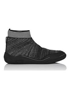 Lanvin Men's Knit Sock Sneakers