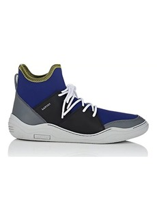 Lanvin Men's Neoprene & Leather Sneakers