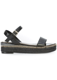 Lanvin braided sole sandals