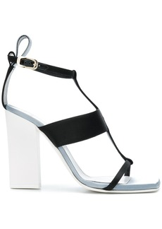 Lanvin open-toe strappy sandals - Black
