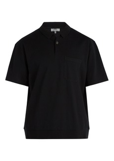 Lanvin Oversized cotton-piqué polo shirt