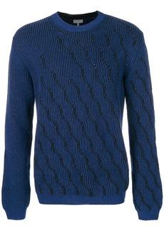 Lanvin patterned jumper - Blue
