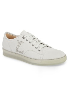 Lanvin Perforated Low Top Sneaker (Men)
