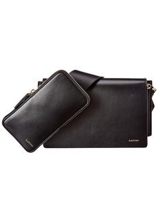 Lanvin Pixel It Leather Shoulder Bag