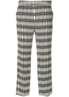 Lanvin printed trousers - Black