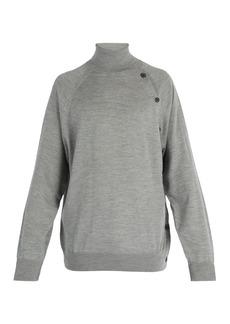 Lanvin Roll-neck wool sweater